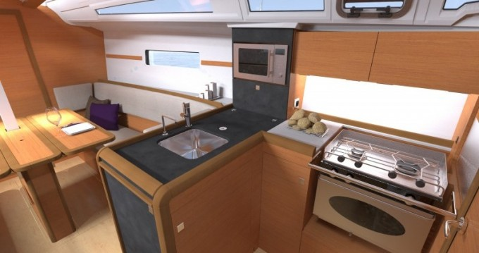 Boat rental Palma de Mallorca cheap Sun Odyssey 349