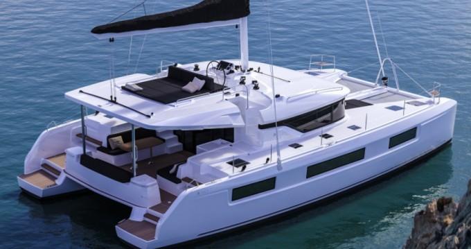 Boat rental Torrevieja cheap Lagoon 50
