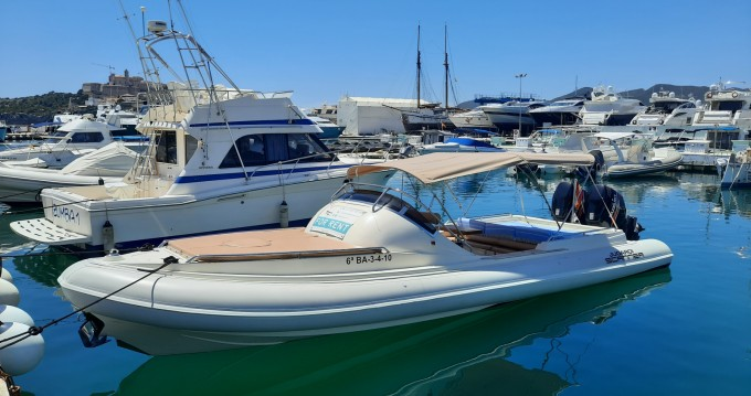 Hire RIB with or without skipper Scanner Ibiza Island