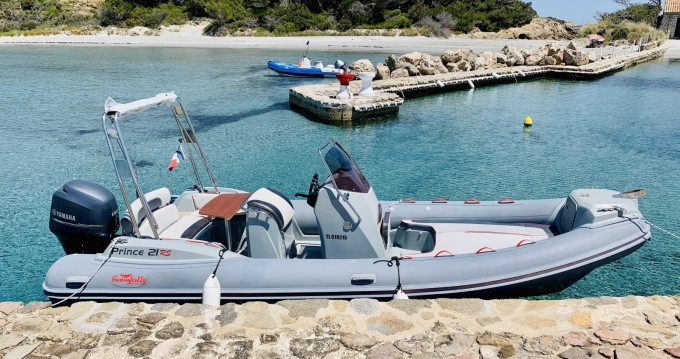 Rental RIB in Hyères - Capelli Tempest 626 Luxe