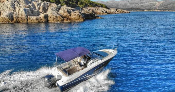 Boat rental Jeanneau Cap Camarat 7.5 WA in Dubrovnik on Samboat