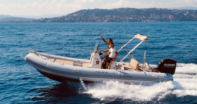 Hire RIB with or without skipper Zodiac Antibes