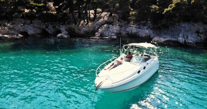 Boat rental Sea Ray Sundancer 265 in Dubrovnik on Samboat