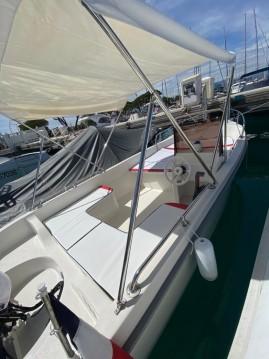 Boat rental Antibes cheap Tiller 480