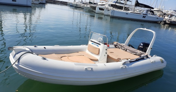 Hire RIB with or without skipper Zodiac Golfe-Juan