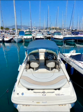 Rental Motorboat in Antibes - Sea Ray Sea Ray 240