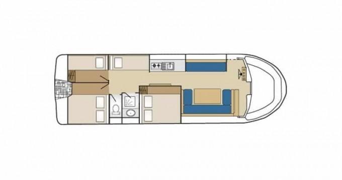 Boat rental Low Cost Marina 1120 in Cahors on Samboat