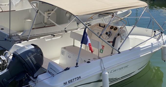 Boat rental Jeanneau Cap Camarat 5.1 CC Style in Mandelieu-la-Napoule on Samboat