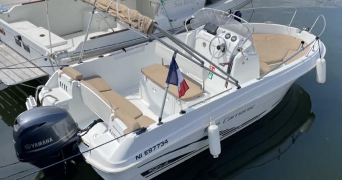 Rent a Jeanneau Cap Camarat 5.1 CC Style Mandelieu-la-Napoule