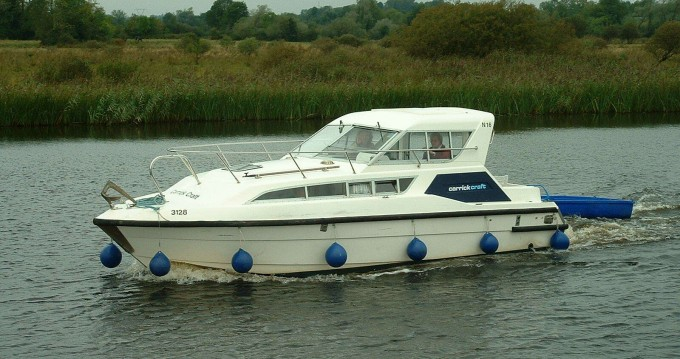 Hire Canal boat with or without skipper Classic Carrick on Shannon