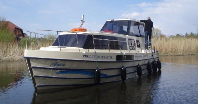 Boat rental Gmina Ślesin cheap Vistula Cruiser 30 SE