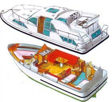 Boat rental Colombiers cheap Haines Rive 34