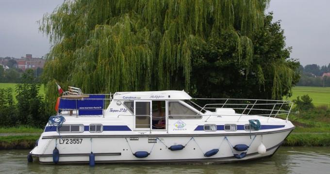 Rental Canal boat in Pontailler-sur-Saône - Premium Tarpon 37 DP