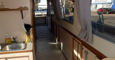 Rental Canal boat in Digoin - Access Espade 1230 Handy