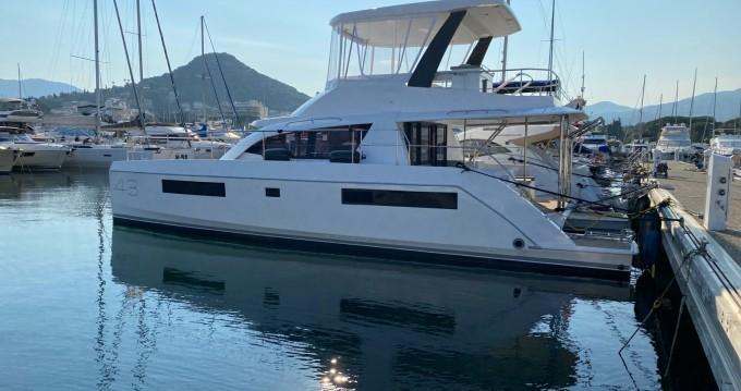 Boat rental Mandelieu-la-Napoule cheap Leopard 43 Powercat