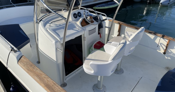 Motorboat for rent Granville at the best price