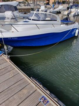 Rent a Quicksilver Activ 640 Cabin Argelès-sur-Mer