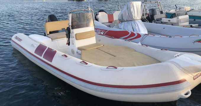 Hire RIB with or without skipper Mariner Porto Pozzo
