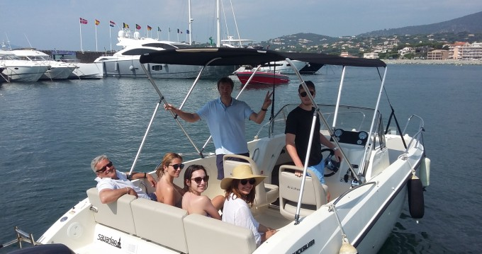 Boat rental Sainte-Maxime cheap Cap Ferret 650 Open
