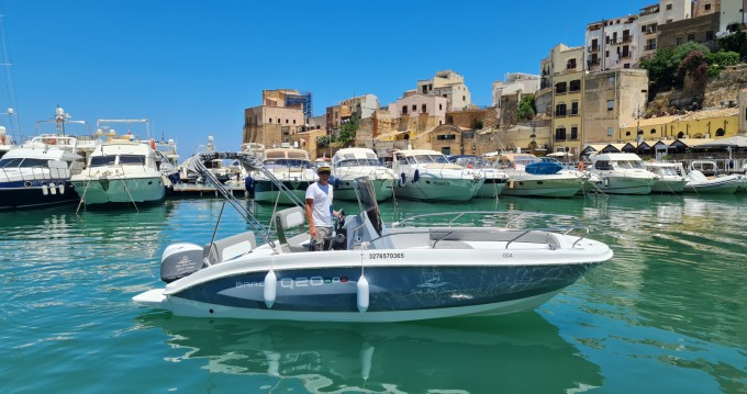 Hire Motorboat with or without skipper Barqa Castellammare del Golfo