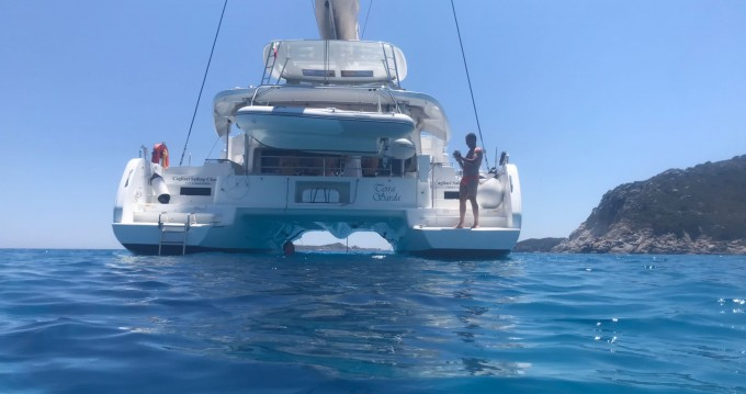 Boat rental Cagliari cheap Lagoon 46