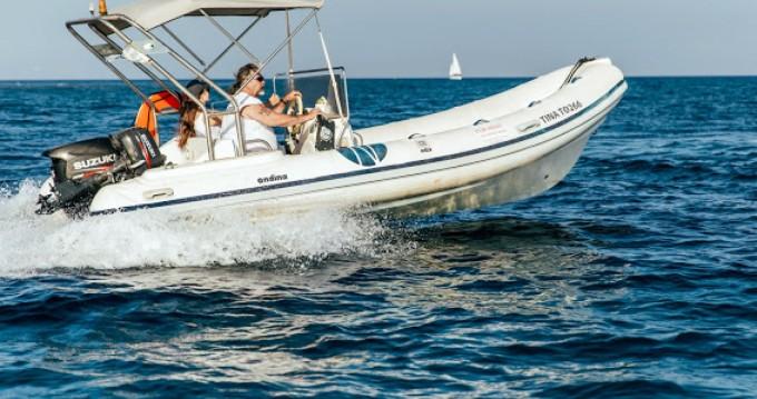 Rental yacht Santorini - Nautica Ondina 565 on SamBoat