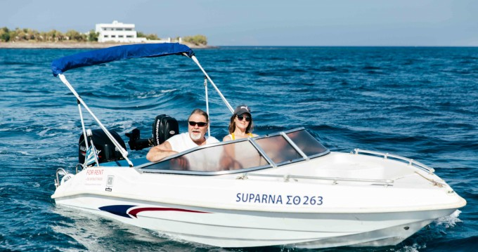 Hire Motorboat with or without skipper Ahellas Santorini