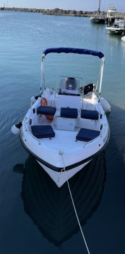 Motorboat for rent Santorini at the best price