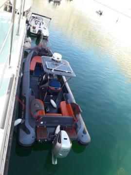 Rental Motorboat in Novi Vinodolski -  Bura 850