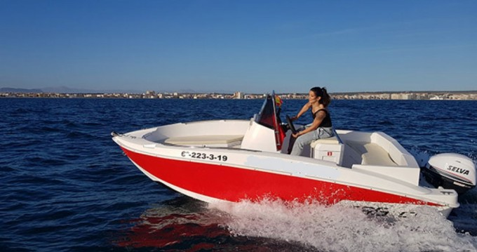 Hire Motorboat with or without skipper Compass Torrevieja