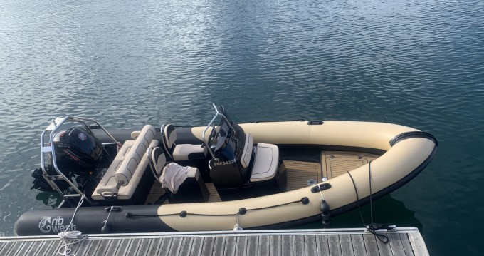 Hire RIB with or without skipper Ribwest Guidel-Plage