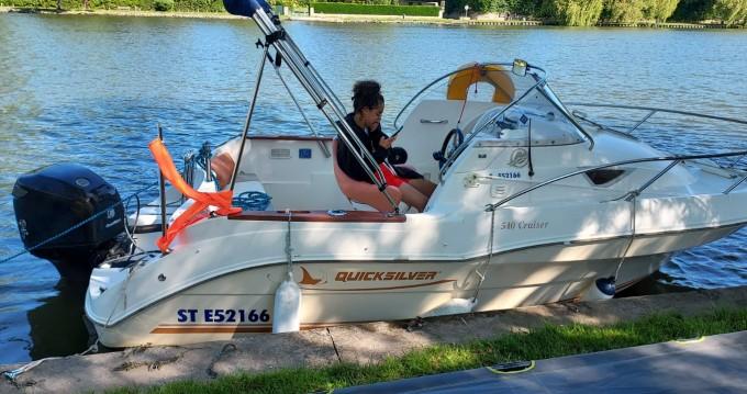 Hire Motorboat with or without skipper Quicksilver Le Mée-sur-Seine