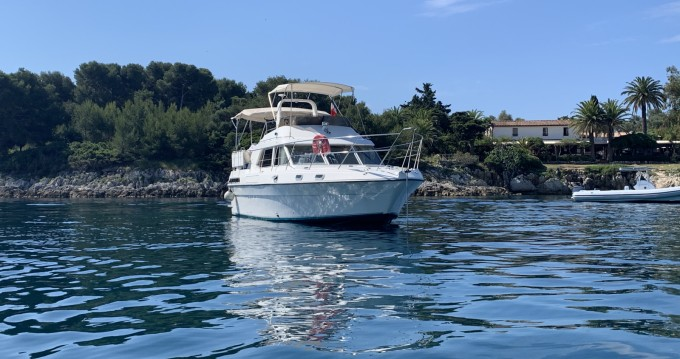 Boat rental Fairline Fairline 36 Turbo in Mandelieu-la-Napoule on Samboat