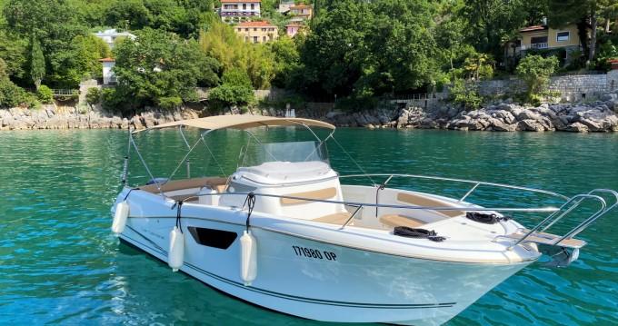 Boat rental Ičići cheap Cap Camarat 8.5 CC