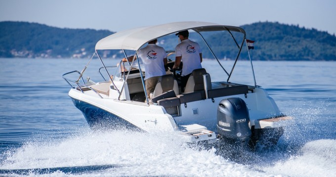 Jeanneau Cap Camarat 6.5 WA between personal and professional Zadar