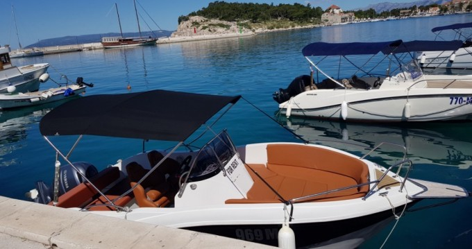 Okiboats Barracuda 545 Open between personal and professional Makarska