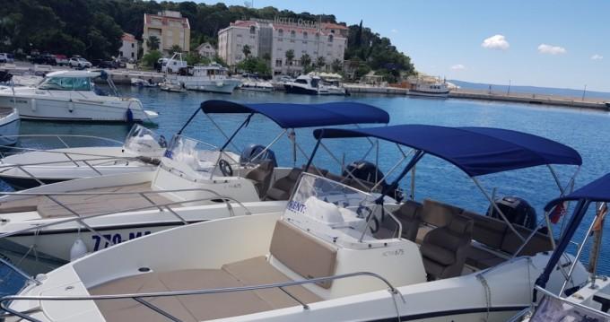 Rental Motorboat in Makarska - Quicksilver Activ 675 Open
