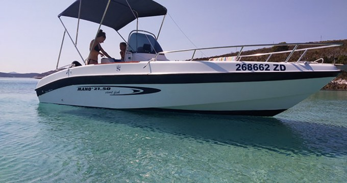 Rent a Mano Marine Mano Marine 21.50 sport fish Zadar