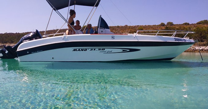 Rental Motorboat in Zadar - Mano Marine Mano Marine 21.50 sport fish
