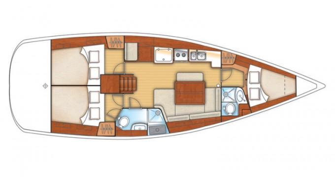 Boat rental Bénéteau Oceanis 40.1 in Bormes-les-Mimosas on Samboat