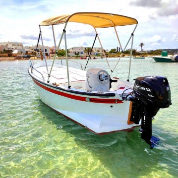 Rental Motorboat PR mare with a permit