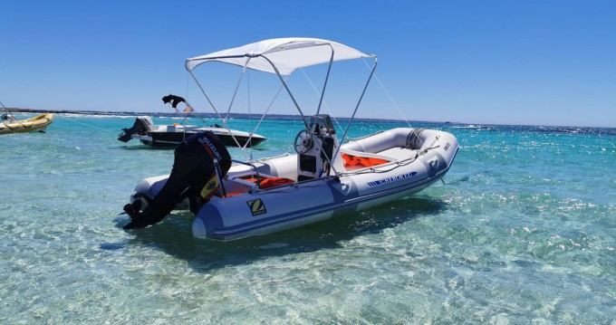Hire RIB with or without skipper Zodiac Formentera