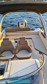 Boat rental Trogir cheap 23 offshore