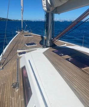 Boat rental Hanse Hanse 540 E in Tahiti on Samboat