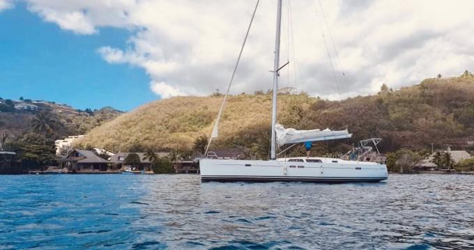Boat rental Tahiti cheap Hanse 540 E