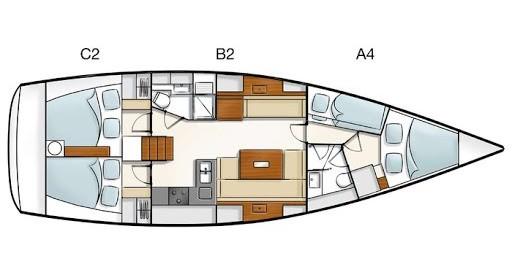 Rental yacht Medulin - Hanse Hanse 430e on SamBoat