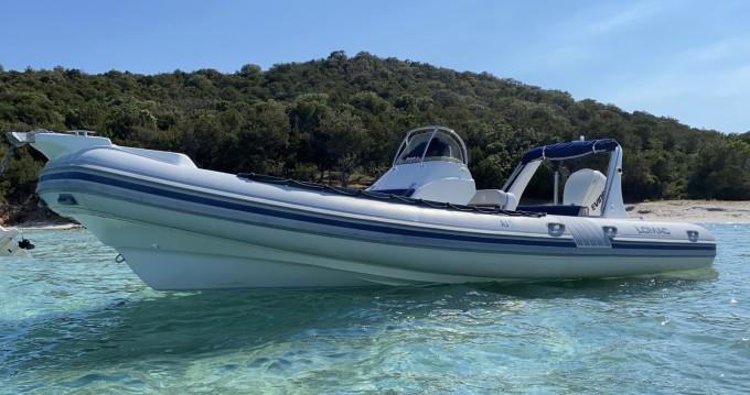 Boat rental Porto-Vecchio cheap Lomac 760 IN