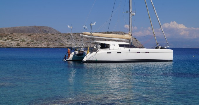 Catamaran for rent Kato Gouves at the best price
