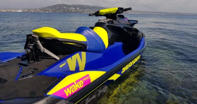 Rental Jet Ski in Antibes - Sea-Doo WAKE PRO 230
