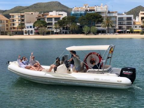 Boat rental Bsc BSC 75 Classic in Puerto de Pollensa on Samboat
